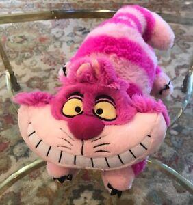 Disney-Store-Cheshire-Cat-18-034-Authentic-Genuine-Plush-Alice-in-Wonderland-Doll