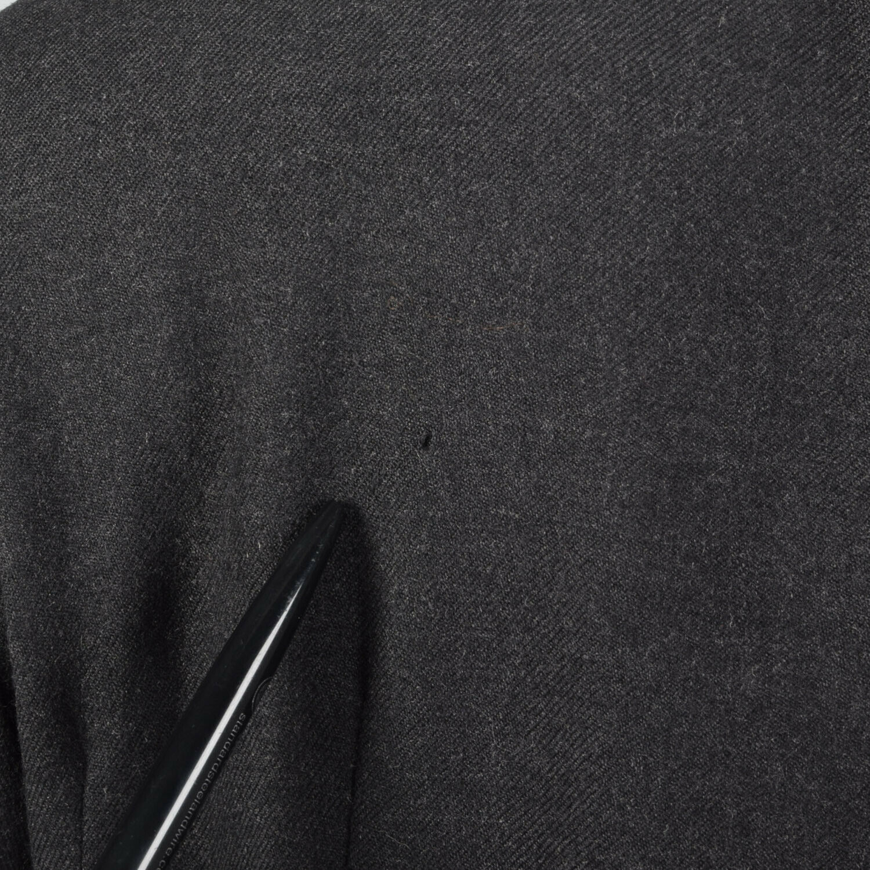 Medium Gary Graham 2000s Wool Princess Coat Charc… - image 10