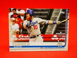 Topps 2019 carte card Baseball MLB NM+/M Los Angeles Dodgers #79 Turner