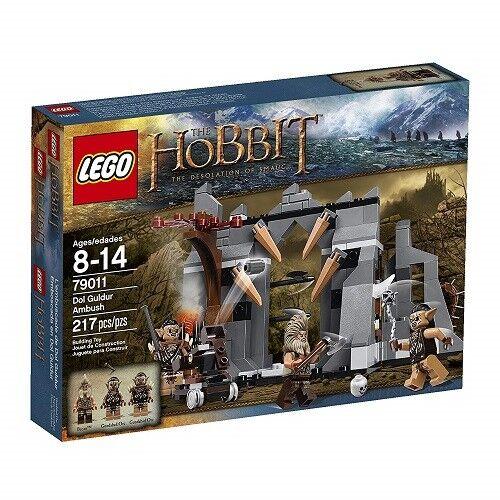 NEW Lego HOBBIT: Desolation The Desolation HOBBIT: of Smaug (79011) Dol Guldur Ambush - 217 pcs 4e57cd