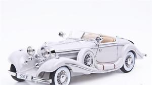 Mercedes-Benz 500 K Specialroadster Colección Maisto Fundido Coche Typ Modelo 1 18
