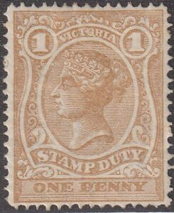 VIC-1d-pale-bistre-Stamp-Duty-mint-SG-265a
