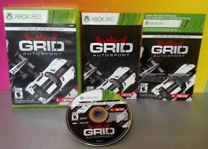 Grid-AutoSport-Limited-Black-Edition-Racing-Microsoft-Xbox-360-Complete-Game