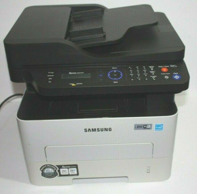 Samsung Xpress M2875FW Laser All-In-One Wireless Monochrome Printer
