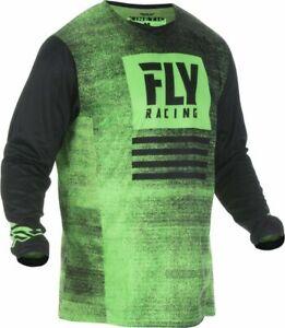 Fly-2019-Kinetic-Noiz-Mx-Motocross-Fuoristrada-Ragazzini-Jersey-Verde-Neon