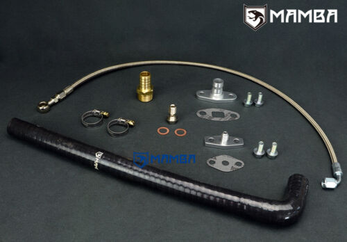 Turbo Oil Feed /& Return Line Kit For Nissan SD33T 3.3 Patrol Hitachi HT15-B