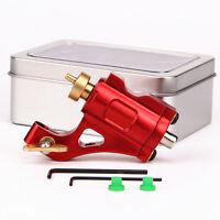 CNC  Aluminium Alloy Rotary Tattoo Machine Motor Tattoo Gun Shader Liner Red