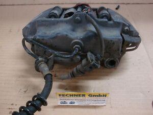 Bremssattel-hinten-links-Porsche-Cayenne-955-Brembo-4-Kolben-Bremszange-Traeger