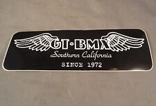 """GT Decal Sticker for Old Mid School BMX Park Racing Bikes Bicycles 4.75""""x1"""""""