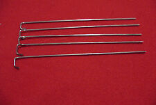 GERMAN WWI & WWII RIBBON BAR PINS FOR 15mm RIBBONS - STEEL - 13 cm - FIVE