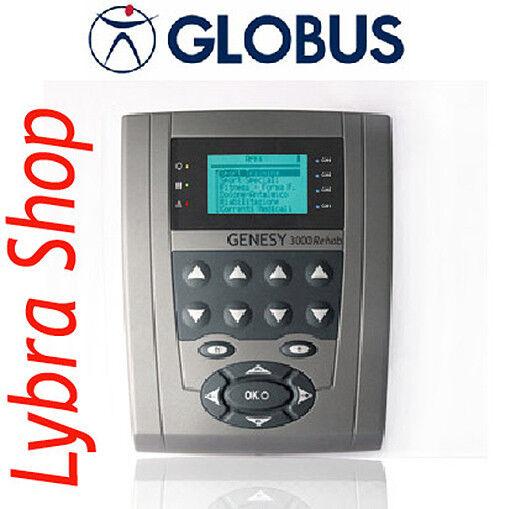 Globus GENESY 3000 REHAB Elettroterapia Elettrostimolatore Elettroterapia REHAB Riabilitazione d82433