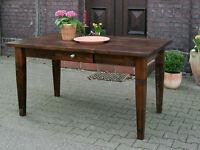 Esstisch Tisch Massivholz Küchentisch Landhaus Schreibtisch 150 mod.01 antik Neu