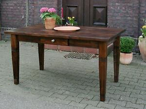 Esstisch-Tisch-Massivholz-Kuechentisch-Landhaus-Schreibtisch-150-mod-01-antik-Neu