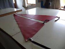 Red Spray Shield Set for  Hobie Mirage Adventure Island  kayak  - early model