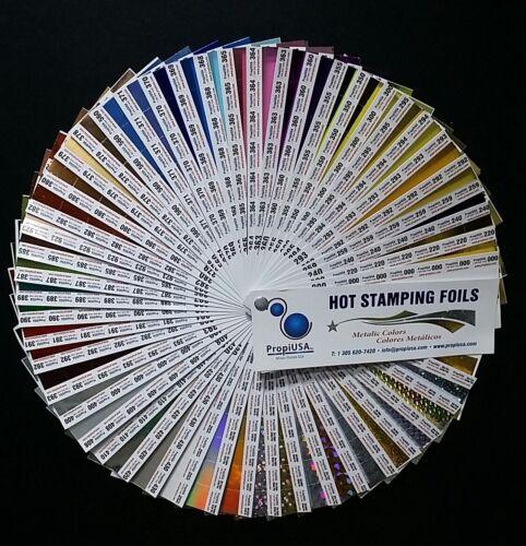 259 Hot Stamping Foil 24 In x 1000 Ft High Gloss Metallic Black PROPIUSA