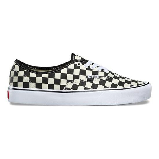 peach checkerboard vans