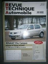 Renault CLIO Campus depuis 2006 : revue technique RTA b726