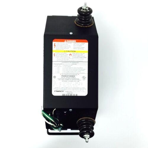 France 15030P8G2B PRI-120V SEC-15000V 30MA Neon Transformer 14455