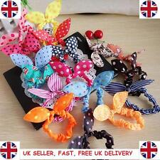 x10 PCS of Rabbit Bows Girls Bunny Ear Hairband Rabbit Ear Hair Band Bow Tie UK
