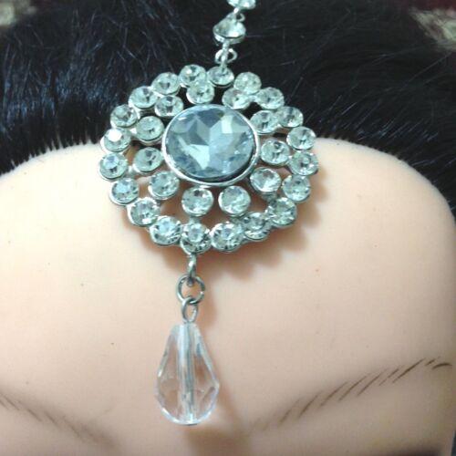 Tika Forehead Hair Jewellery Indian Jewellery Crystal Diamante