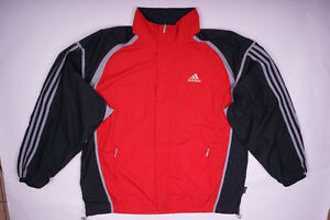 Details zu Adidas Trainingsjacke Sweatjacke Climashell Jacke Vintage Retro Herren Gr.D8 (L)