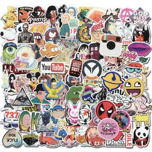 Details about  /10 Logo Stickers Vinyl Decal Brand Logo Skateboard Laptop Car Bomb Bike Luggage