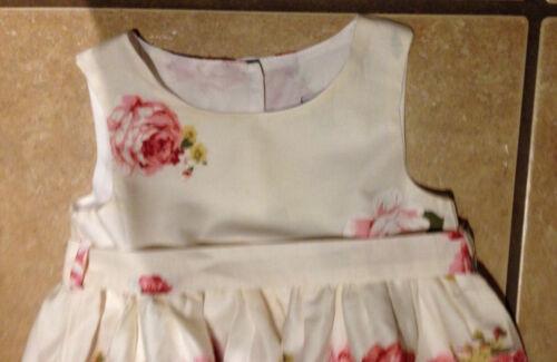 NWT Zara Girl Boutique Rose Party Wedding Birthday Floral Dress Size 6//7 7//8