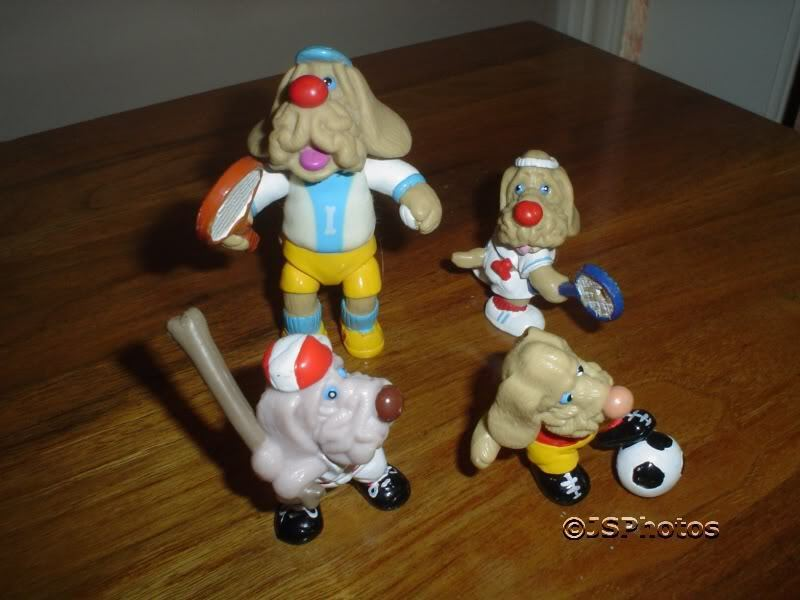 4 Wrinkles Dogs Ganz Bros 1985 Rubber Sports cifras