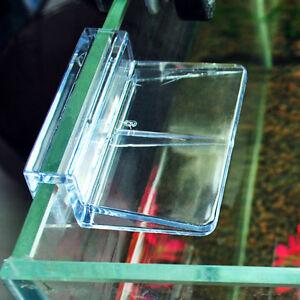 6-8mm-Acquario-Serbatoio-trasparente-Clip-per-vetri-Copri-vetro-Supporto-foLO