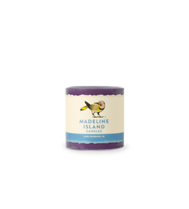 Handmade in the USA. Imperial Purple Unscented Soy Candles