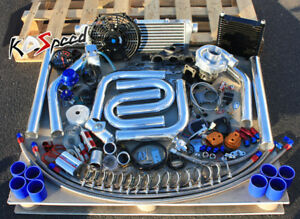 Details about HONDA K20 EP3 DC5 T3 STAGE 2 T04E TURBOCHARGER TURBO KIT  UPGRADE DIY FMIC PIPING