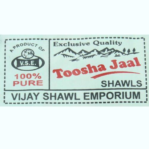 Acrylic Wool Blanket Shawl Wrap Throw Finest Softest India BLACK Paisley Travel