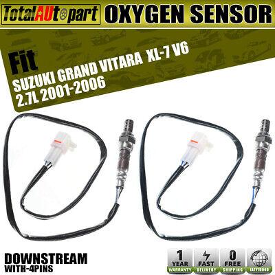 2*Downstream for Suzuki XL-7 Grand Vitara 4pcs 02 Oxygen Sensor O2 2*Upstream