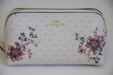 Coach Cosmetic Case Bag 17 Small Magnolia Bouquet Print F32067