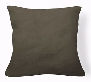 nk40a Thick Linen Pale Brown Beige Cushion Cover//Pillow Case*Custom Size*