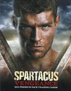 Spartacus-Vengeance-Premium-Pack-Card-Album