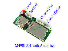 MP3 Decoder Board WAV Music Decoding Module SD USB MP3 Player With 3W Amplifier