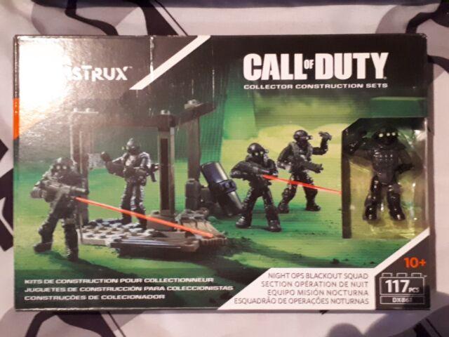 Mega Construx Call of Duty  Night Ops Blackout Squad DXB61