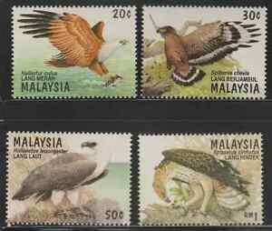199-MALAYSIA-1996-BIRDS-OF-PREY-SET-FRESH-MNH