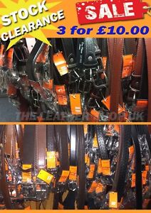 Stock-Clearance-Super-Sale-Offer-Assorted-UK-Handmade-New-Jeans-Mens-Belts