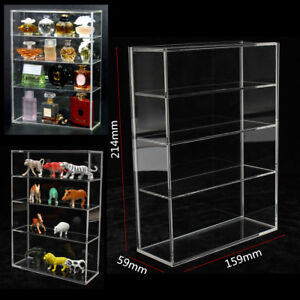 Four-layer-Acrylic-Display-Box-Show-Case-Sliding-Door-For-Mini-Perfume-Bottle