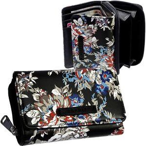 ESPRIT-Damen-Brieftasche-Blumen-Geldboerse-Portemonnaie-Geldtasche-Geldbeutel