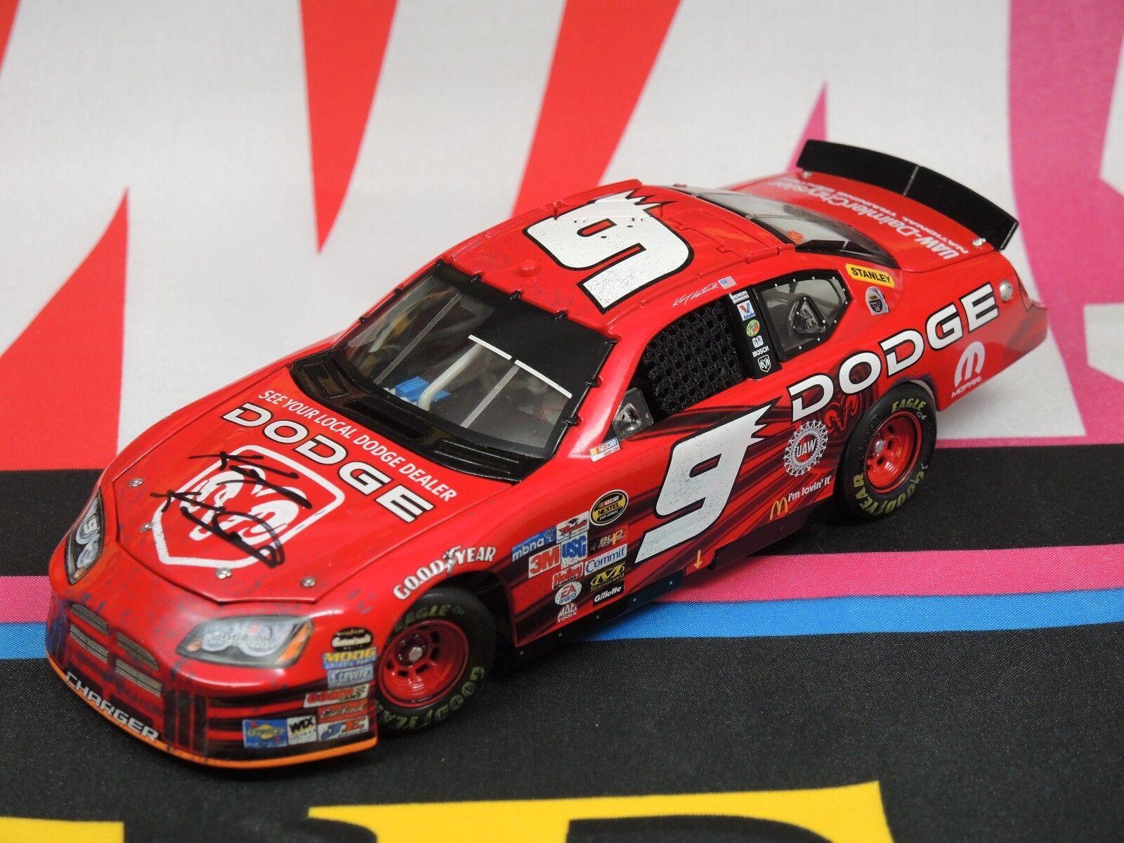 Kasey Kahne Dodge Dealers - Autographed Richmond Win Version 2005 1 24 Elite