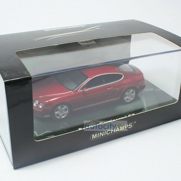 MINICHAMPS BENTLEY CONTINENTAL GT RED 436139025