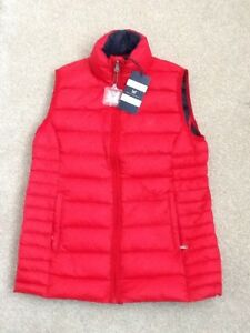 Ladies Crimson With Gilet Clothing 8 Crew Tag New Size Lightweight Down Red xIAaIwSqH