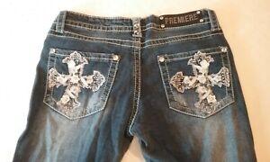 Premiere-Rue-21-women-039-s-jeans-size-7-8-r-boot
