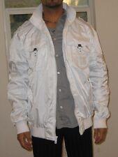 D-Lux White Denim Brand Jacket, *Size 2XL  SIZE  XXL   p
