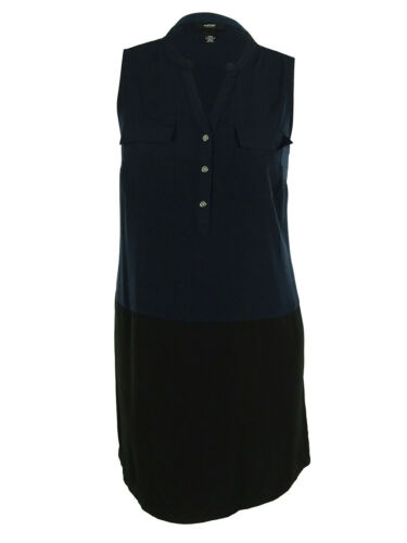 Alfani Women/'s Sleeveless Split Neck Dress 12, Coral Blast