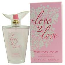 Love 2 Love by  Fresh Rose & Peach EDT Spray 3.4 oz