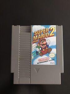 Super Mario Bros. 2 - Original Nintendo NES Game - Tested + Working & Authentic!